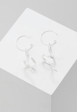EARRINGS SIGYN - Örhänge - silver-coloured