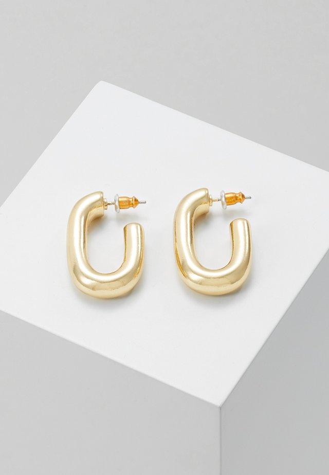 EARRINGS RAN - Oorbellen - gold-coloured