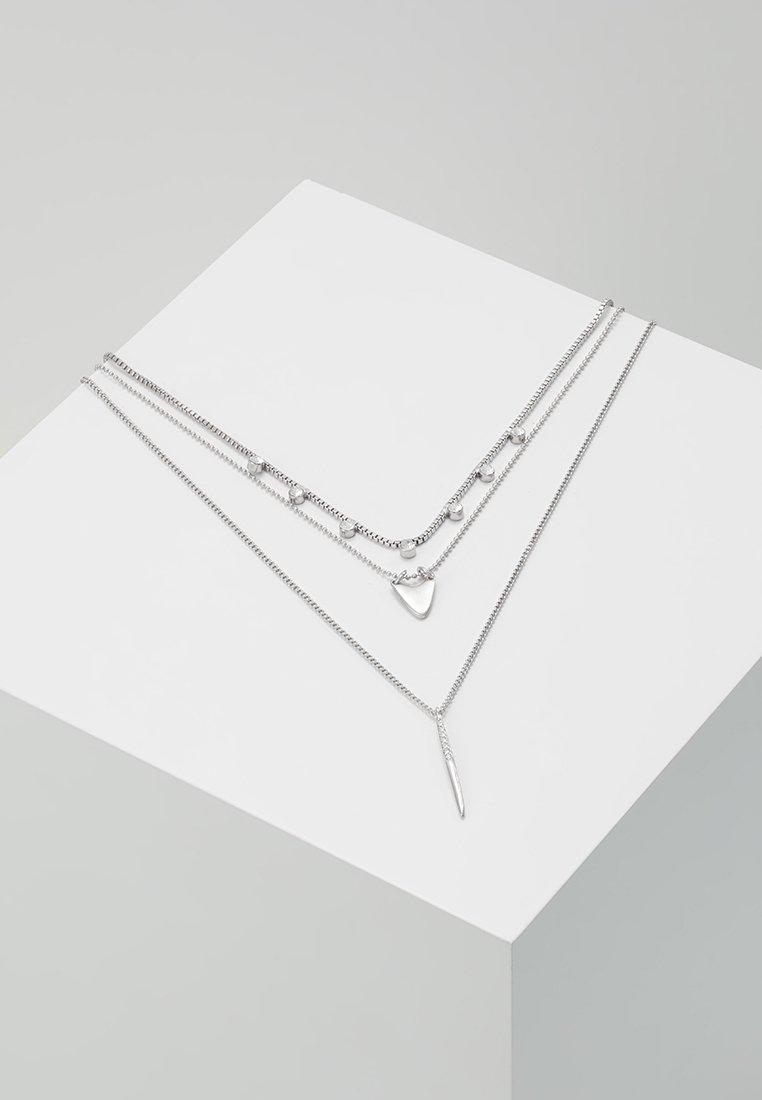 Pilgrim - NECKLACE - Collar - silver-coloured