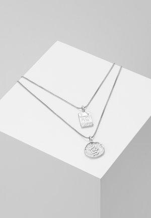 NECKLACE VALKYRIA 2 PACK - Halskæder - silver-coloured