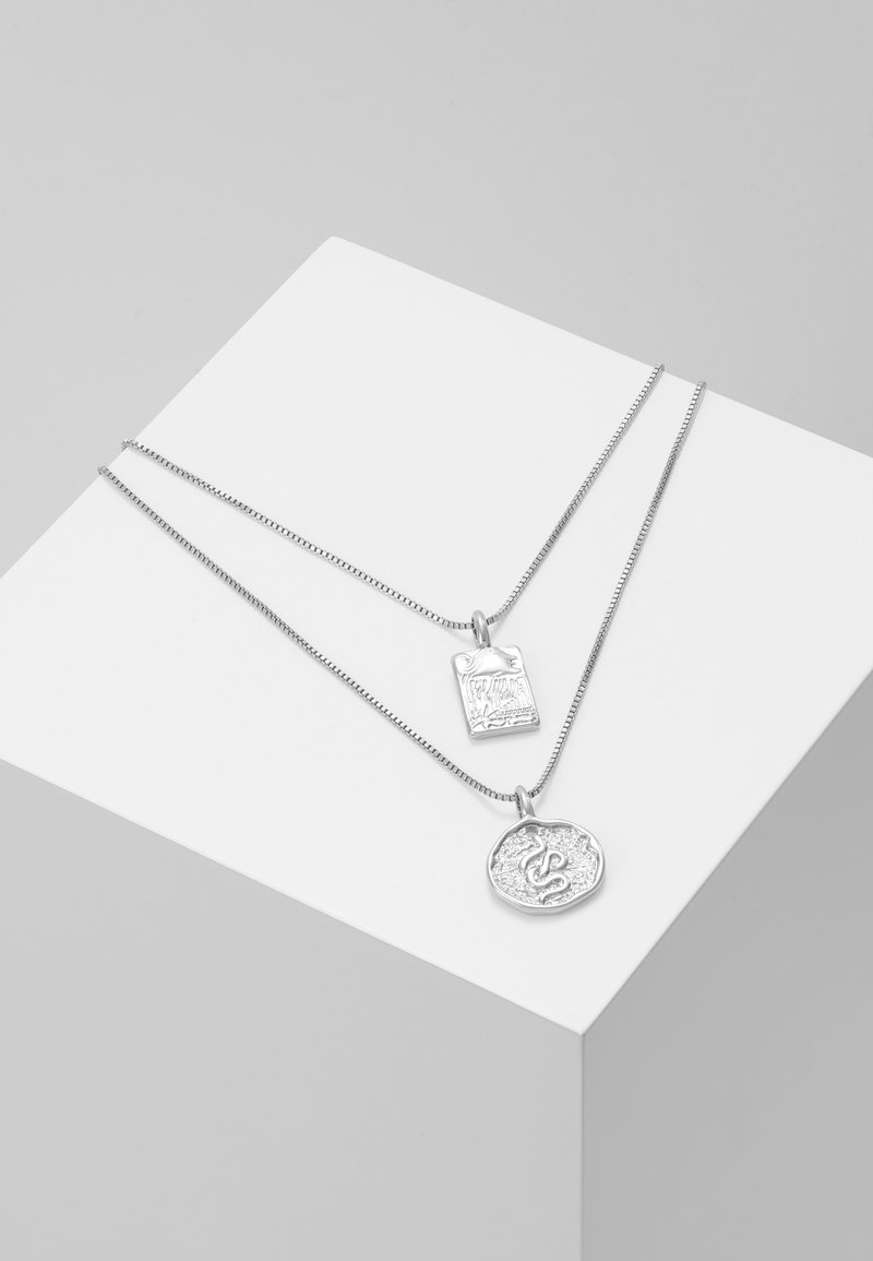 Pilgrim - NECKLACE VALKYRIA 2 PACK - Collier - silver-coloured