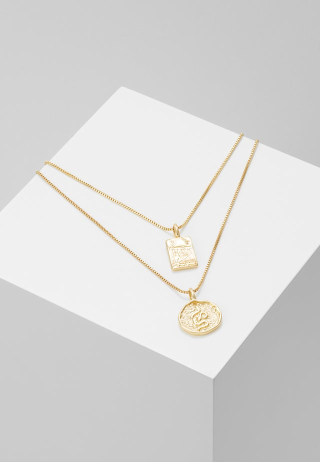 NECKLACE VALKYRIA 2 PACK - Halsband - gold-coloured