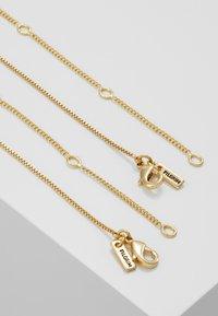 Pilgrim - NECKLACE VALKYRIA 2 PACK - Necklace - gold-coloured - 2