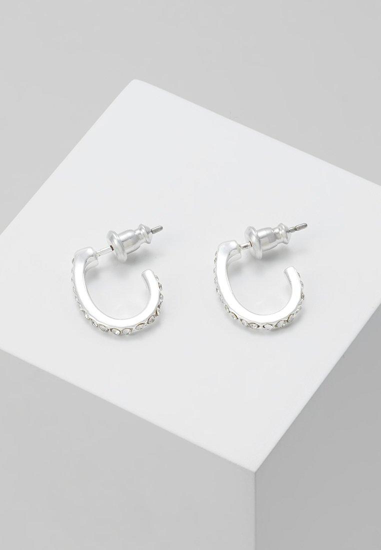 Pilgrim - DELIA - Korvakorut - silver-coloured