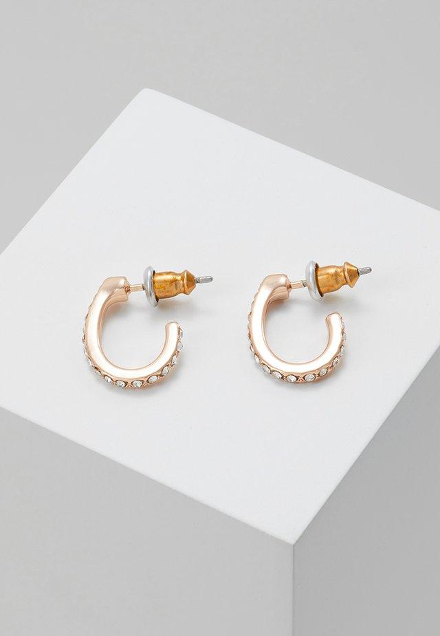 EARRINGS DELIA PLATED - Earrings - rose gold-coloured