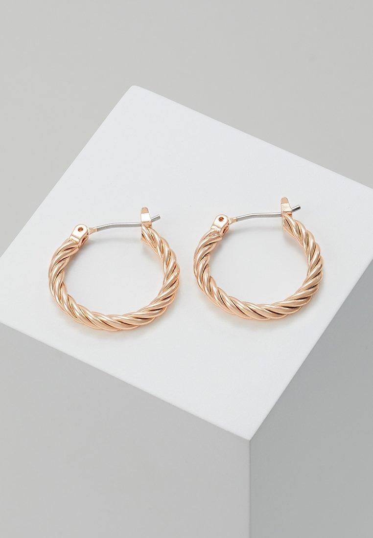 Pilgrim - EARRINGS CECE - Örhänge - rose gold-coloured
