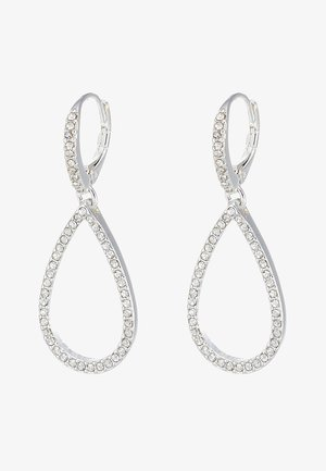 EARRINGS DELIA - Ohrringe - silver-coloured