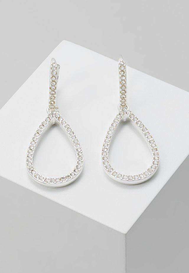 EARRINGS DELIA - Oorbellen - silver-coloured