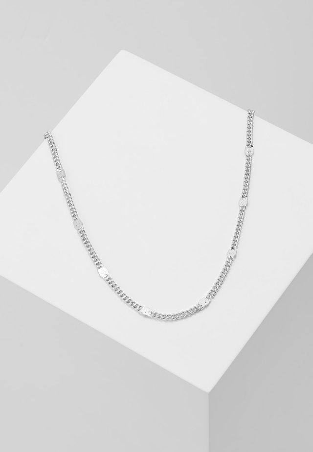 NECKLACE - Halskæder - silver-coloured