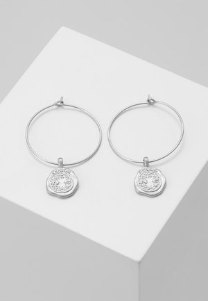 EARRINGS VERDANDI - Oorbellen - silver-coloured