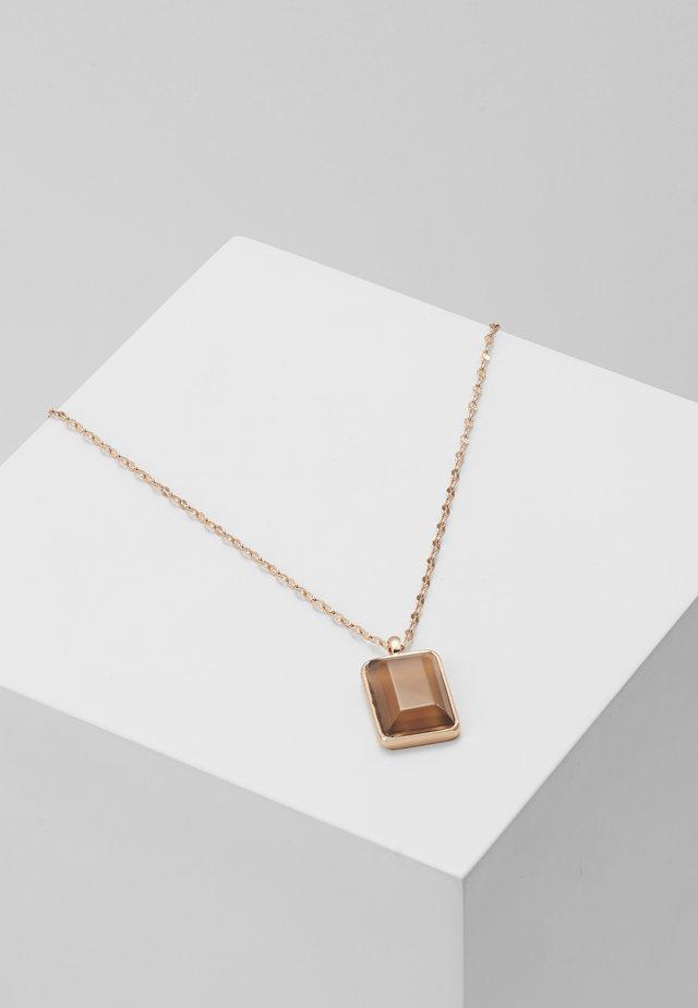 NECKLACE VERDANDI - Necklace - rose gold-coloured