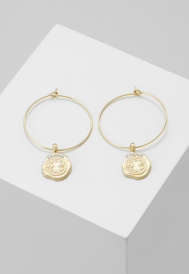 EARRINGS VERDANDI - Earrings - gold-coloured