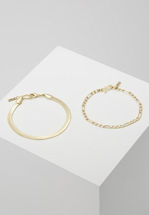 BRACELET 2 PACK - Bracelet - gold-coloured