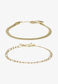Pilgrim - BRACELET 2 PACK - Pulsera - gold-coloured