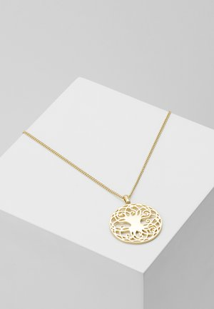 NECKLACE YGGDRASIL - Ketting - gold-coloured