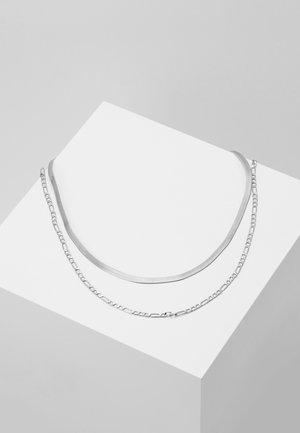 NECKLACE 2-IN-1 - Kaulakoru - silver-coloured