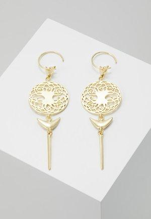 EARRINGS - Orecchini - gold-coloured