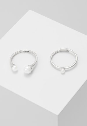 2 PACK - Bague - silver-coloured