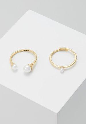 2 PACK - Prsten - gold-coloured