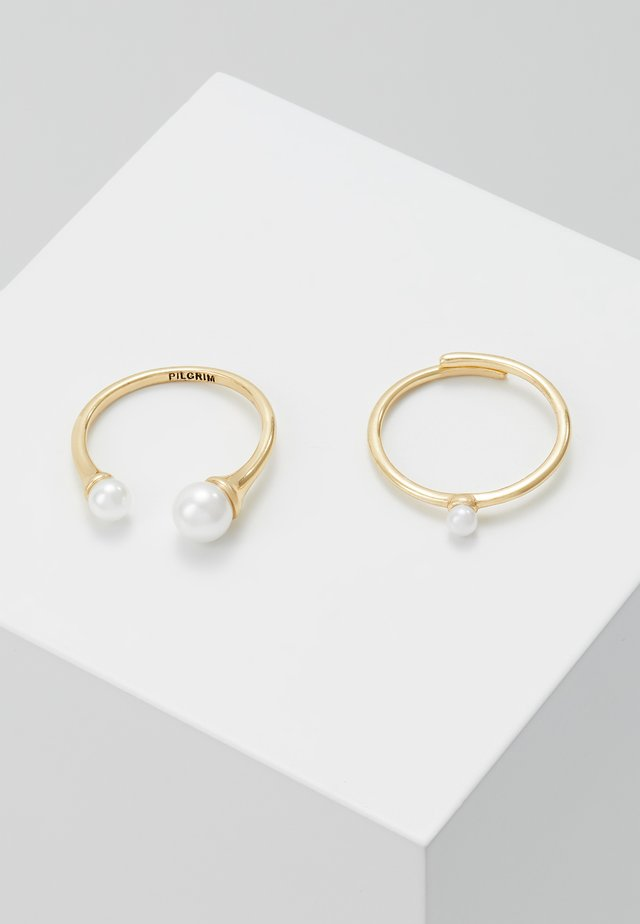 2 PACK - Ringar - gold-coloured