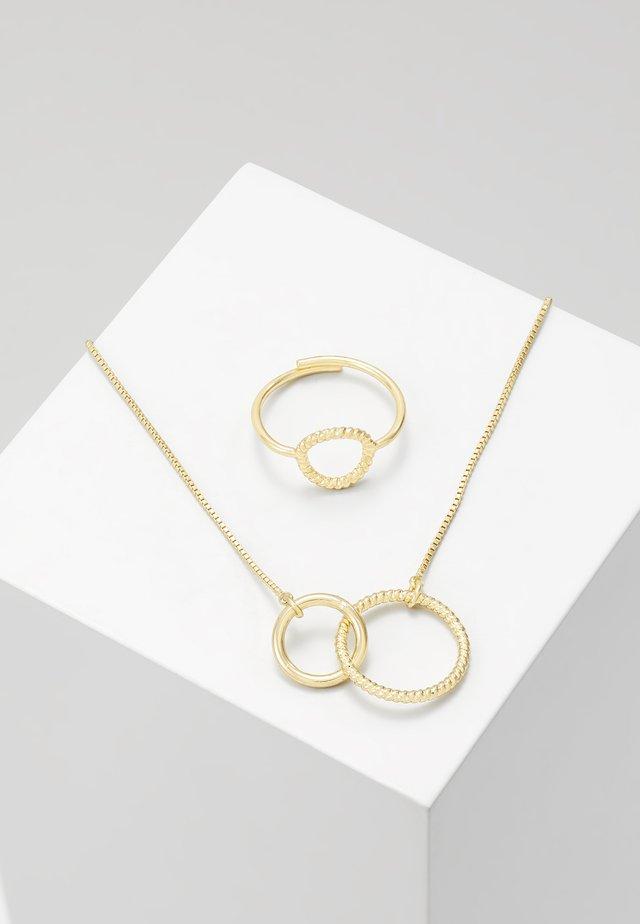 JEWELRY SET - Halsband - gold-coloured