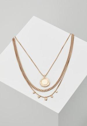 NECKLACE AIR SET - Halskette - gold-coloured