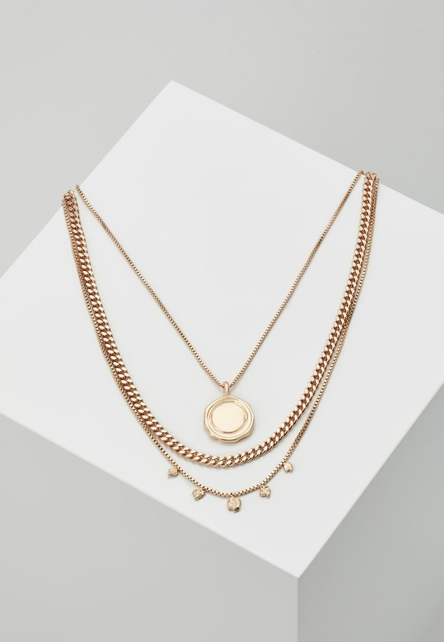 NECKLACE AIR SET - Halsband - gold-coloured