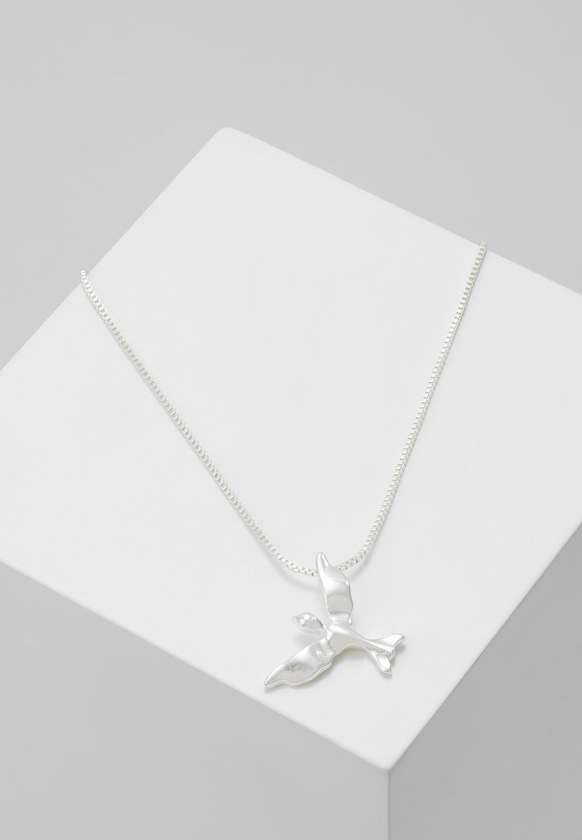 NECKLACE AIR - Halsband - silver-coloured