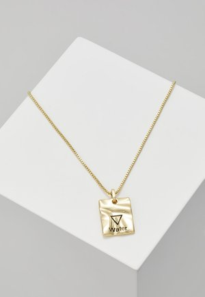 NECKLACE WATER - Ketting - gold-coloured