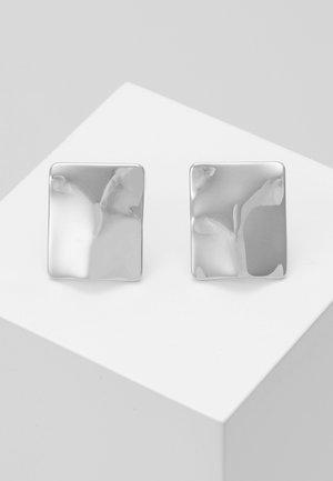 EARRINGS WATER - Oorbellen - silver-coloured