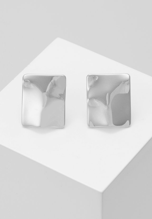 EARRINGS WATER - Örhänge - silver-coloured