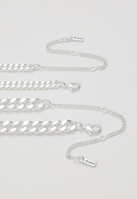Pilgrim - NECKLACE 2 PACK - Ketting - silver-coloured - 2