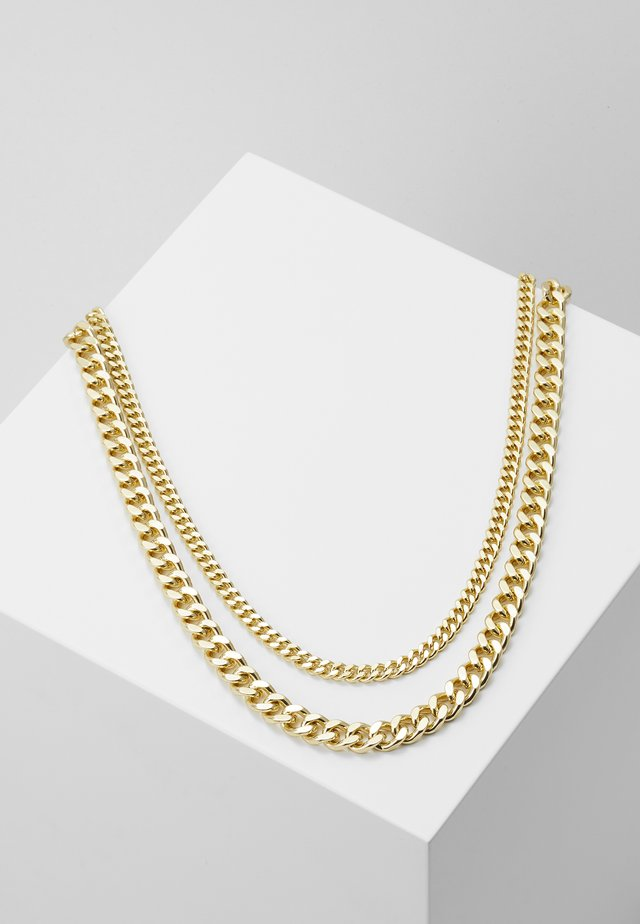 NECKLACE 2 PACK - Halsband - gold-coloured