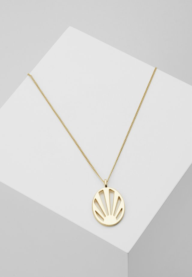 NECKLACE FIRE - Necklace - gold-coloured