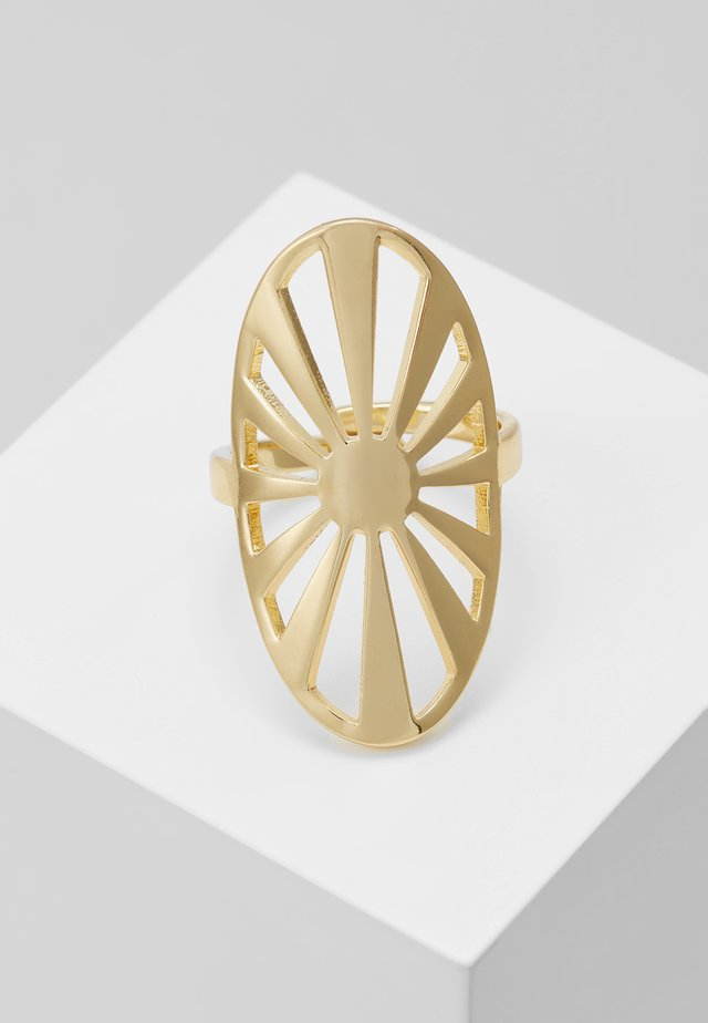 FIRE - Ring - gold-coloured