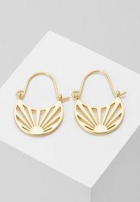 Pilgrim - EARRINGS FIRE - Earrings - gold-coloured - 0