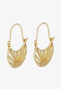 Pilgrim - EARRINGS FIRE - Earrings - gold-coloured - 3