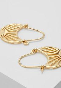 Pilgrim - EARRINGS FIRE - Earrings - gold-coloured - 2