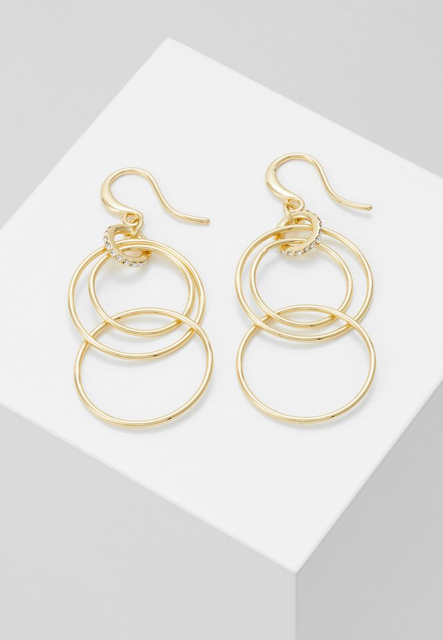 EARRINGS FIRE - Náušnice - gold-coloured