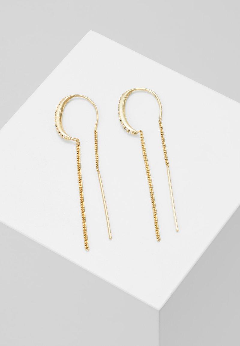 Pilgrim - EARRINGS FIRE - Earrings - gold-coloured
