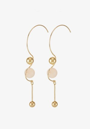 EARRINGS EARTH ROSE - Ohrringe - gold-coloured