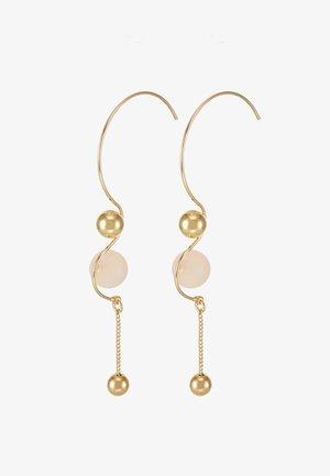 EARRINGS EARTH ROSE - Earrings - gold-coloured