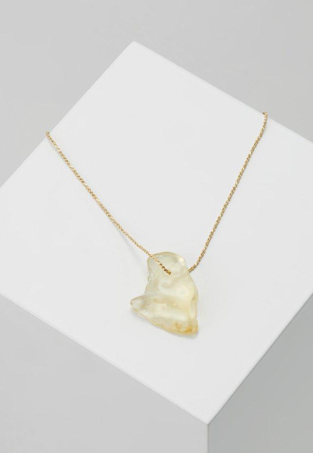 NECKLACE SOLAR PLEXUS CHAKRA  - Necklace - gold-coloured
