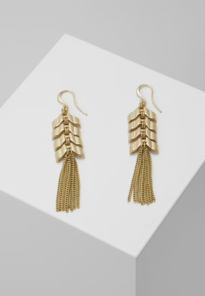 EARRINGS KARLA - Oorbellen - gold-coloured