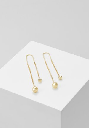 EARRINGS - Earrings - gold-coloured