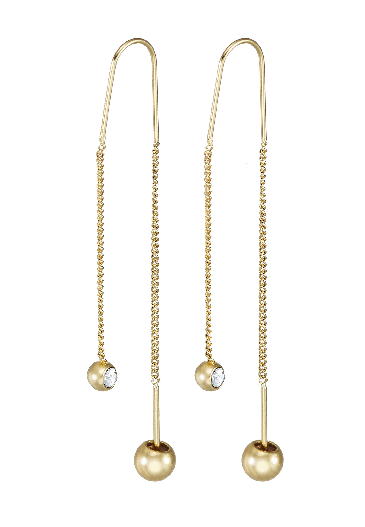Pilgrim EARRINGS - Örhänge - gold-coloured