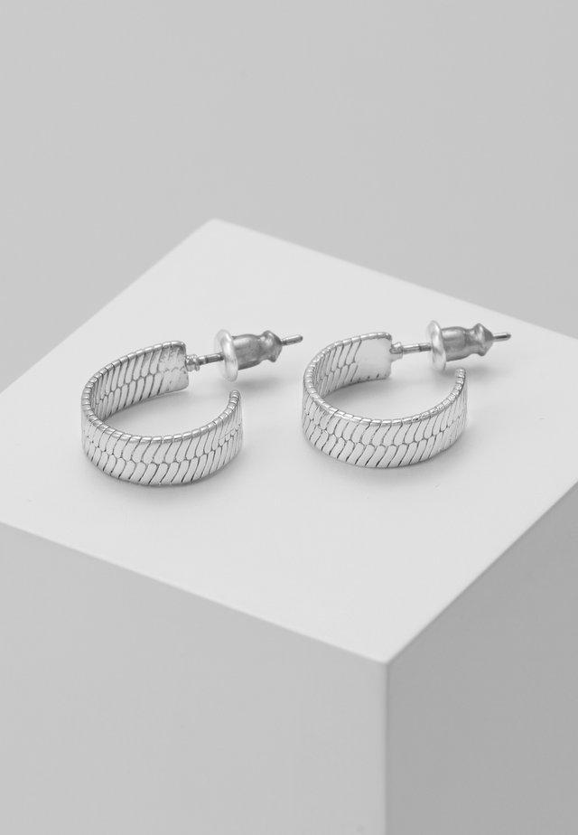 EARRINGS - Øreringe - silver-coloured
