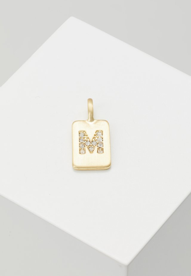 PENDANT LETTER - Riipus - gold-coloured
