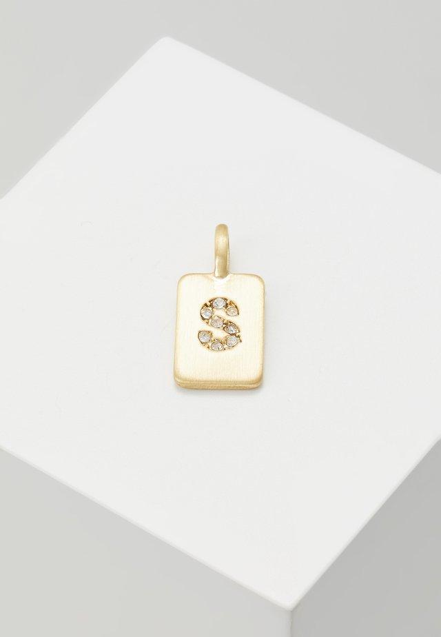 PENDANT LETTER - Visací přívěsek - gold-coloured