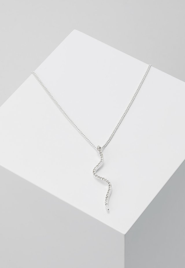 NECKLACE BEAUTY - Necklace - silver-coloured